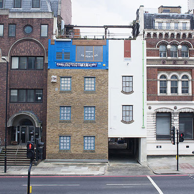 London building turned upside down by Alex Chinneck | This is art | Scoop.it