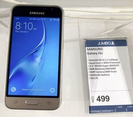 New Samsung Galaxy J1 Launched In Dubai - Geeky Gadgets | Samsung mobile | Scoop.it
