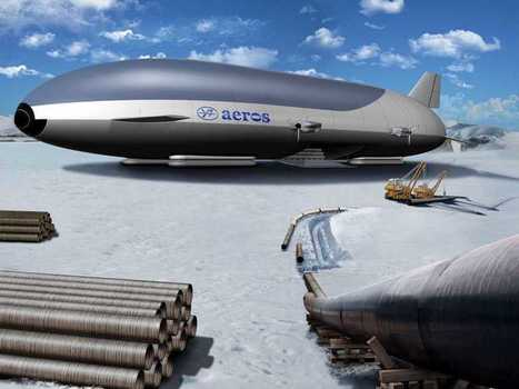 This Huge Zeppelin Could Revolutionize The Shipping Industry | Foodservice Chatter | Scoop.it