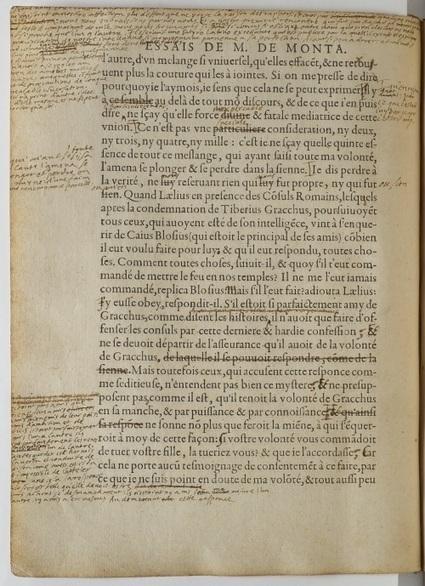 Comment Montaigne écrivait ses Essais : l'Exemplaire de Bordeaux | Le blog de Gallica | Bureau de curiosités | Scoop.it