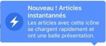 Les questions que pose Instant Articles en France | DocPresseESJ | Scoop.it