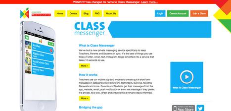 Class Messenger | Digital Education | Scoop.it