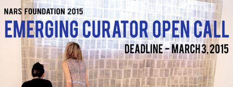 Open Call: NARS Foundation 2015 Emerging Curators | arslog | Scoop.it