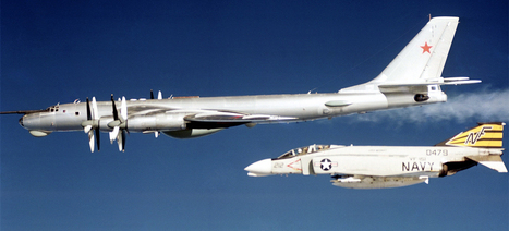 27 high tension photos of NATO jets intercepting Russian warplanes | MilPolSec | Scoop.it