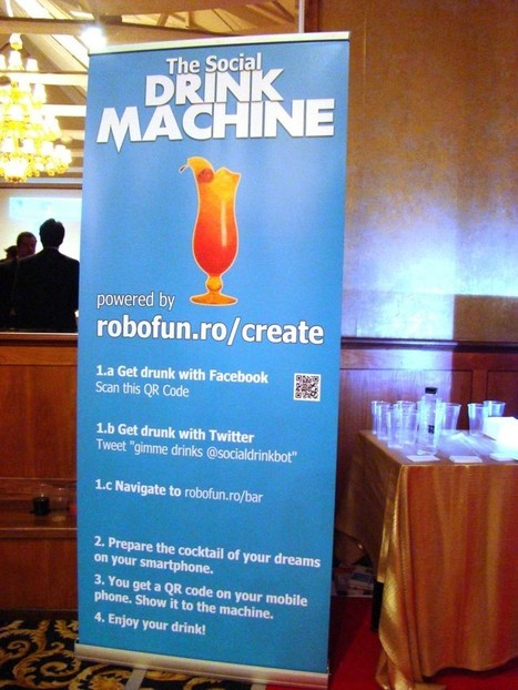 The Social Drink Machine : Robofun – Create | Roshirached | Scoop.it