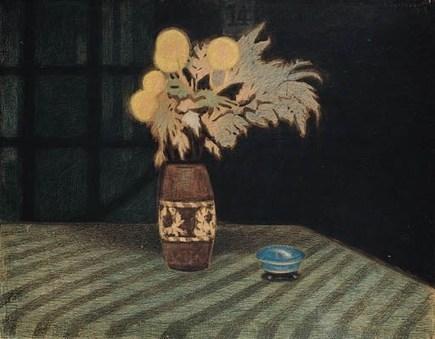 whenbessattacks | dappledwithshadow: Still Life with Flowers, Leon... | abstract art | Scoop.it