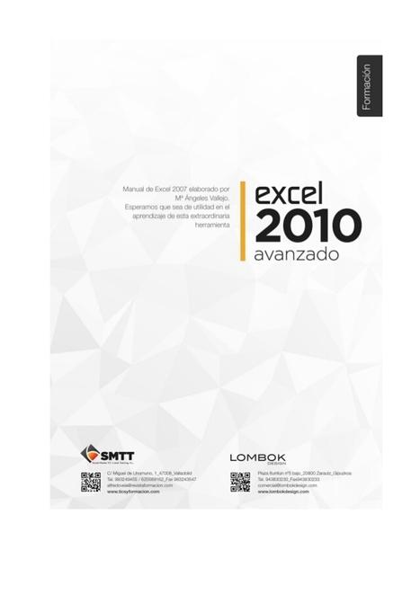 Manual de Excel 2010 avanzado   BIBLIOTECAS ESCOLARES-Agofer   Scoop.it