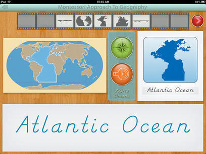 World Continents and Oceans for iPad | Educational Apps | Scoop.it