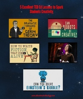 5 Excellent TED Ed Lessons to Spark Students Creativity ~ Educational Technology and Mobile Learning | Wiki_Universe | Scoop.it