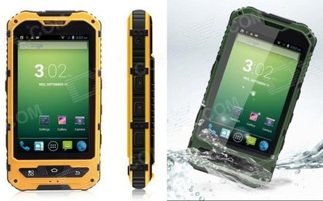 Low Cost Rugged, Waterproof and Dustproof Smartphones Powered by Mediatek Processors | Embedded Systems News | Scoop.it