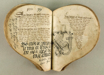My Antique World: The Heart Book, Denmark 1550's. | Antique world | Scoop.it