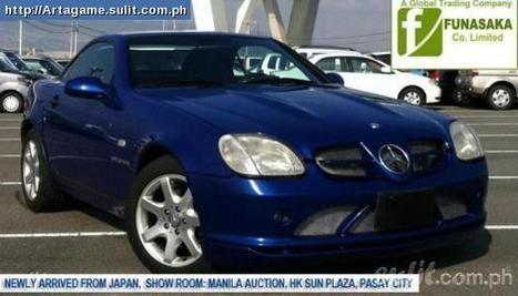 Immediate Buyer Needed For Mercedes Slk 230 1997 - Secondhand For Sale Philippines - 32874753 | ASAP Sale Refined Style, Mercedes SLK 230 (Japan Imported) | Scoop.it