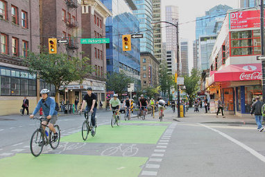 If You Build Bike Lanes, They Will Ride | Human geography | Scoop.it