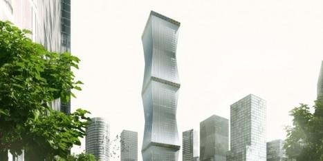 PHOTOS. Un gratte-ciel avec une façade rétractable - Le Huffington Post | Les gratte-ciel | Scoop.it