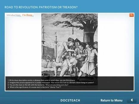 Teaching With Primary Sources on iPads | Ed Tech | Scoop.it