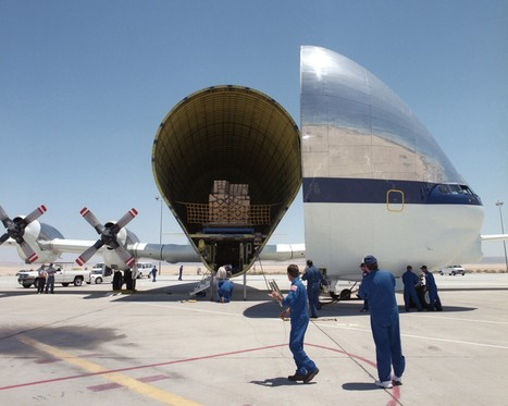 A Super Guppy aircraft loaded with NASA cargo. • /r/aviation   AIR CHARTER CARGO AND FREIGHT   Scoop.it