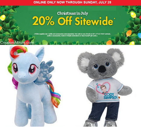 Build-A-Bear Christmas in July Event! | Coupons & Deals | Scoop.it