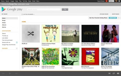 Google's cloud-based music-matching service has arrived... and it's free   Cloud Central   Scoop.it