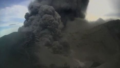 Dramatic eruption of Costa Rica's Turrialba volcano - BBC News | OCR A2 Geography | Scoop.it