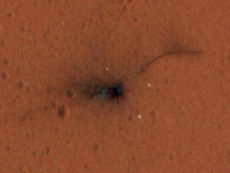 Schiaparelli: le prime immagini a colori del luogo dello schianto su Marte | Marte | Scoop.it
