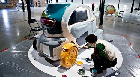 Renault lleva el arte al nuevo Twizy - Jugala.com | VIM | Scoop.it