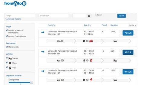 Multimodal Travel Startup, FromAtoB, Closes 7-Figure Series A To Expand ... - TechCrunch | Mobile travel | Scoop.it
