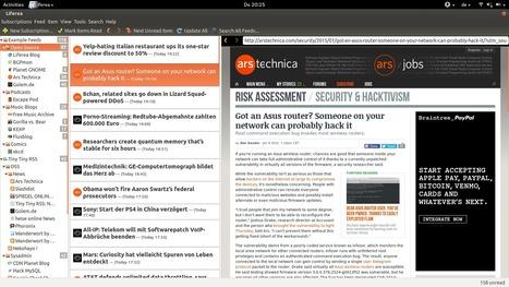 Liferea 1.11.3 Released | RSS Circus : veille stratégique, intelligence économique, curation, publication, Web 2.0 | Scoop.it