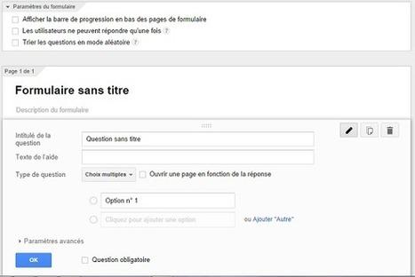 Les formulaires Google pour les sondages ont été améliorés - #Arobasenet   Web & Social Media - Réseaux sociaux   Scoop.it