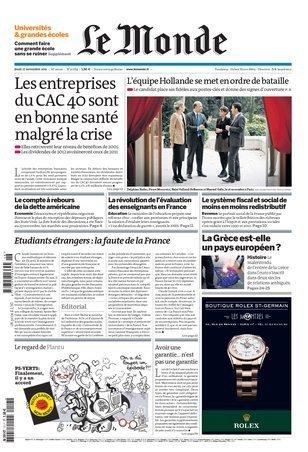 """""""Etudiants étrangers : la faute de la France""""   Du bout du monde au coin de la rue   Scoop.it"""