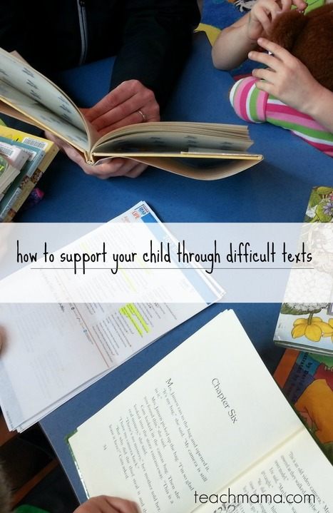 How to support your child through difficult texts - teach mama | Library world, new trends, technologies | Scoop.it
