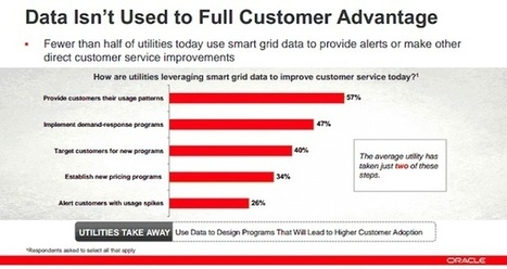 Oracle study: Utilities still not seizing smart grid data opportunity - ZDNet | IP in Utility Industry | Scoop.it