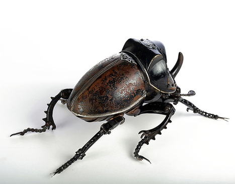 Edouard Martinet's Insect Sculptures | Collecting About Design | Scoop.it