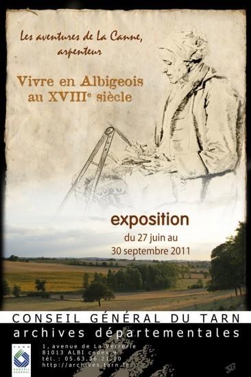 Albi : Vivre en Albigeois au XVIIIème siècle, une exposition aux Archives Départementales du Tarn | GenealoNet | Scoop.it