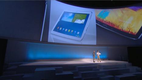 Samsung : un objectif de 100 millions de tablettes vendues en 2014 | Geeks | Scoop.it