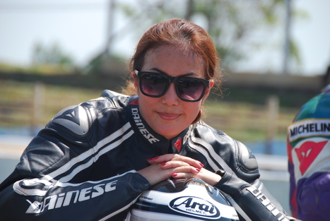 "#11 Immy Imm"" she's gorgeous and overwhelming in R2M SuperBikes PowerGirls 