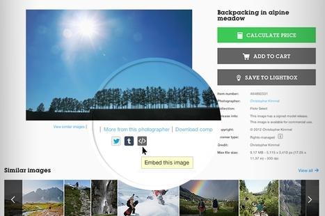 Embarquez des images sur vos blogs et réseaux sociaux | Getty Images | webmarketing | Scoop.it