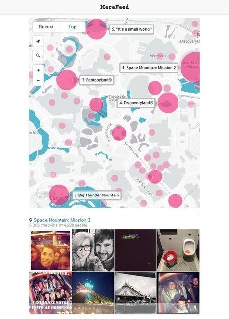 Datavisualiser les lieux les plus photographiés grâce aux données des réseaux sociaux | Actualités de la photo et techniques | Scoop.it