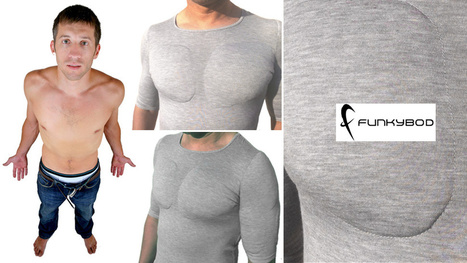 Why Exercise When You Can Buy a $50 Fake-Muscle T-Shirt? | All Geeks | Scoop.it