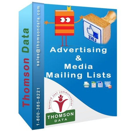 Advertising & Media Professionals List - List of Advertising Agencies | Buy Mailing List, Email List, Sales Leads - Thomson Data LLC. | USA | Scoop.it