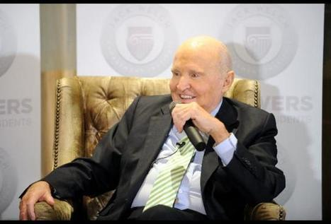 TiECON 2015  and the legendary Mr. Jack Welch -- Be The 'Chief Meaning Officer' | TiE Brussels | Scoop.it