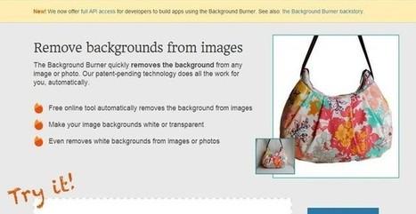Background Burner, quita el fondo a tus fotos con esta utilidad web | Recull diari | Scoop.it