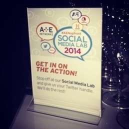 A+E Networks get social for 2014 upfront | Automatic Content recognition | Scoop.it