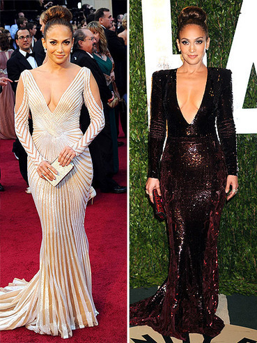 StyleBlazer Survey: J.Lo Wore Not 1 But 2 Plunging Necklines Oscar Night (Which Is Your Fave?) | StyleBlazer | Ultratress | Scoop.it