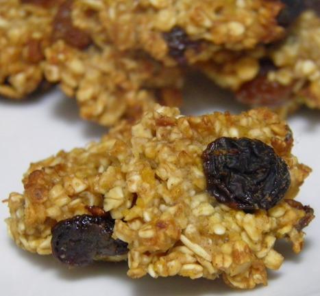 Biscotti energetici con avena e uvetta   Alimentazione Naturale Vegetariana   Scoop.it