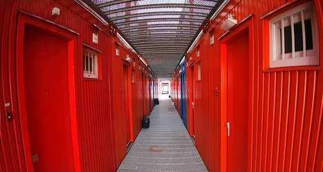 Des conteneurs maritimes convertis en prison | Construction et gestion d'installations temporaires | Scoop.it