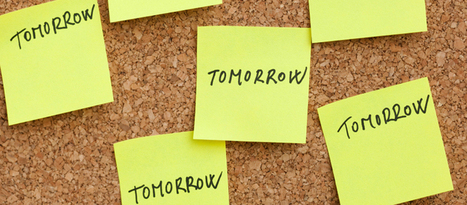 14 Fascinating Studies Done on Procrastination - Online Colleges | Research | Scoop.it