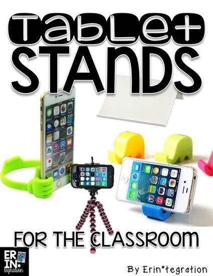 Tablet stands for the classroom - Erintegration | iPads, MakerEd and More  in Education | Scoop.it