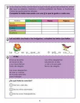 Cuaderno de repaso escolar primavera ideal para primer grado o primero de primaria | lectoescritura en primaria | Scoop.it