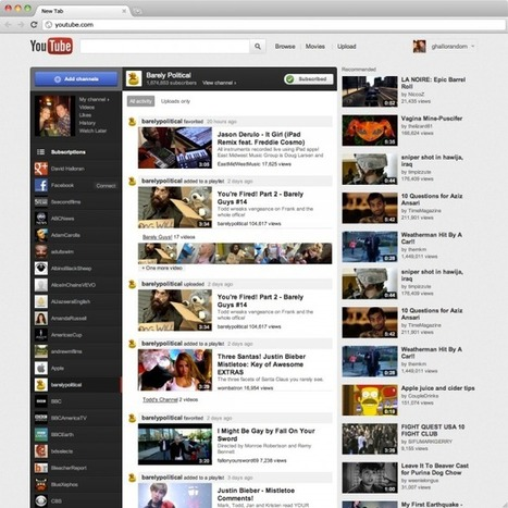 YouTube Revamp Foreshadows Google's Vision of Media | Transmedia: Storytelling for the Digital Age | Scoop.it