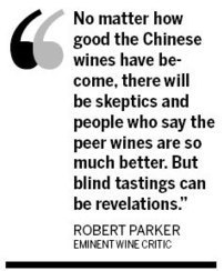 Parker smells potential in China's wines | The China Business Digest | Scoop.it
